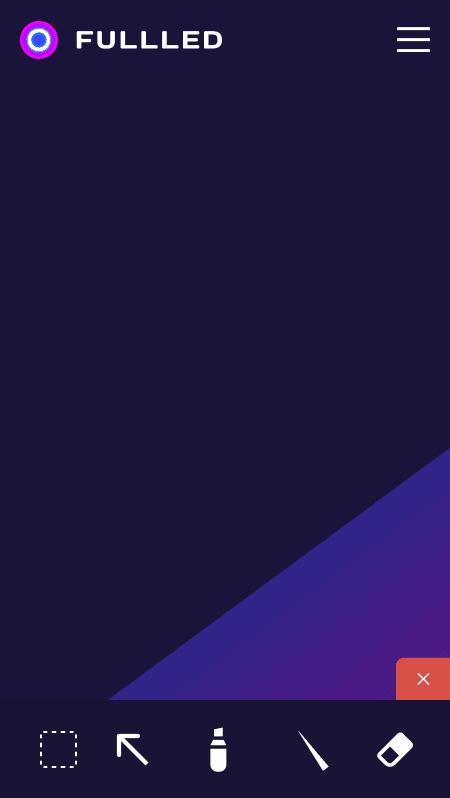 Дизайн мобильного приложения  и веб-версии для компании Fulled 2