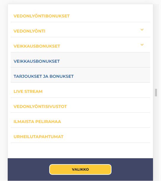 Аудит сайта vedonlyontibonukset.com 30